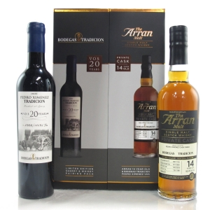 Arran 2001 Private Cask 14 Year Old / Bodegas Tradicion Sherry and Whisky Pairing 2 x 50cl