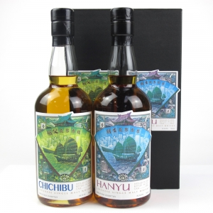 Hanyu Ichiro`s Malt Single Cask #955 and Chichibu 2009 Single Cask #640 2 x70cl