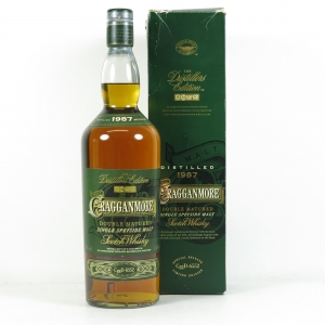 Cragganmore 1987 Distillers Edition 1 Litre Front