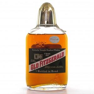 Old Fitzgerald 1958 Bonded 7 Year Old 100 Proof Half Pint / Stitzel-Weller