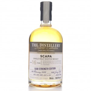 Scapa 2002 Reserve Collection 16 Year Old 50cl / Cask Strength Edition