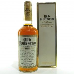 Old Forester Kentucky Straight Bourbon 1990s