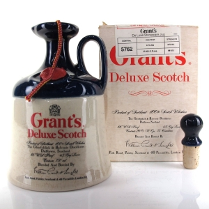Grant's Deluxe Scotch Whisky Decanter 1980s / US Import