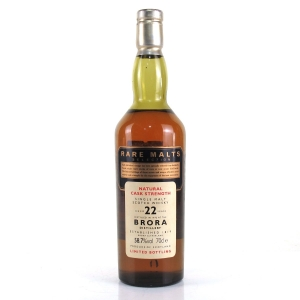 Brora 1972 Rare Malt 22 Year Old / 58.7%