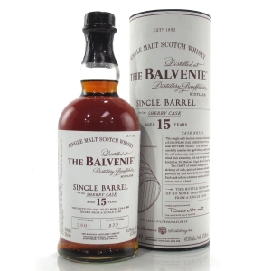 Balvenie 15 Year Old Single Barrel #2801 / Sherry Cask