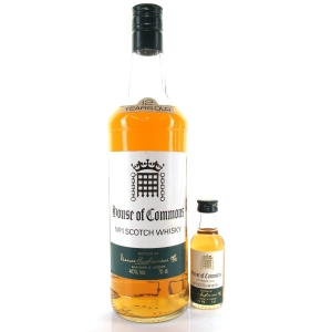 House of Commons 12 Year Old 1980s / includes Miniature 5cl