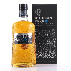 Highland Park 10 Year Old Viking Scars