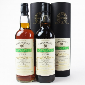 Macallan 1987 Cadenhead's 17 Year Old / 2 x 70cl