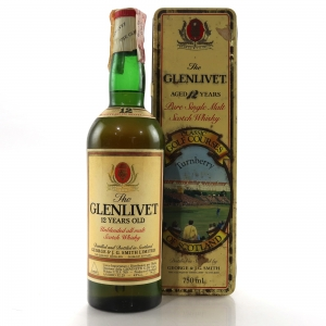 Glenlivet 12 Year Old Classic Golf Courses 1980s / Turnberry