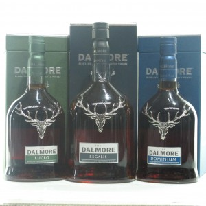 Dalmore Fortune Merita Collection 1 Litre & 2 x 70cl / Dominium, Regalis, Luceo