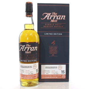 Arran 2001 Single Cask 15 Year Old / ArranWhisky.com