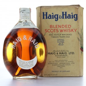 Haig and Haig 1940s / US Import
