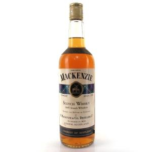 The Real Mackenzie Scotch Whisky 1970s