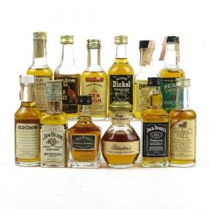 Vintage Bourbon Miniature Selection 12 x 5cl