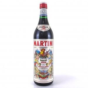 Martini Rosso Vermouth 1 Litre 1980s
