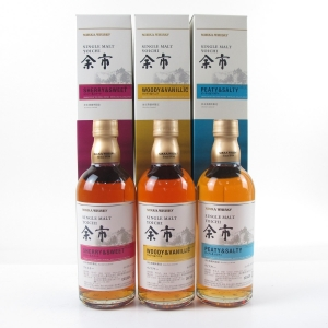 Yoichi Peaty & Salty / Sherry & Sweet / Woody & Vanillic 3 x 50cl