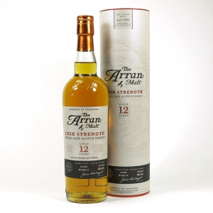 Arran 12 Year Old Cask Strength Batch #3 Front