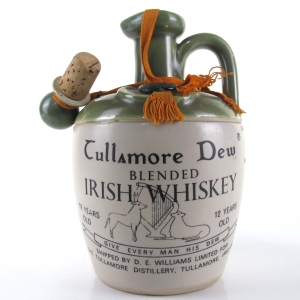 Tullamore Dew 12 Year Old Decanter 1960s / Daly's