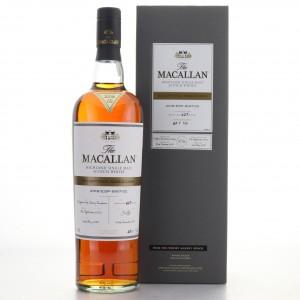 Macallan 2002 Exceptional Cask #8167-02 / 2018 Release