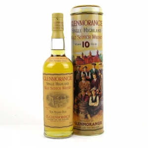 Glenmorangie 10 Year Old Tin 1990s