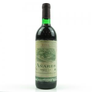 Añares 1981 Rioja Reserva