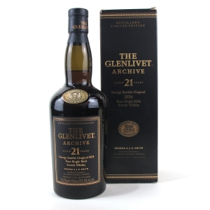 Glenlivet 21 Year Old Archive 75cl / US Import