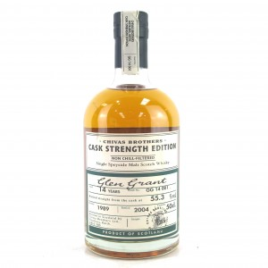 Glen Grant 1989 Cask Strength 14 Year Old / Batch #001