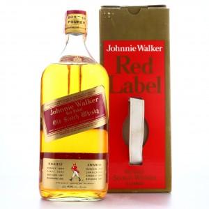 Johnnie Walker Red Label 2 Litre 1970s