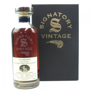 Bowmore 1972 Signatory Vintage 36 Year Old / Waldhaus Exclusive