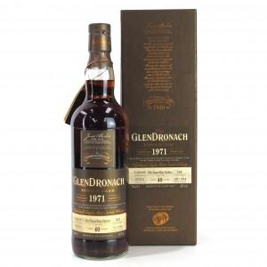 Glendronach 1971 Single Cask 40 Year Old #1436