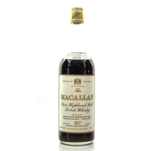 Macallan 1958 Campbell, Hope and King