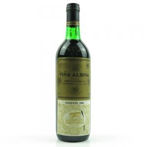 Viña Albina 1981 Rioja Reserva / Leaking