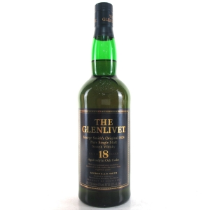 Glenlivet 18 Year Old 75cl / US Import