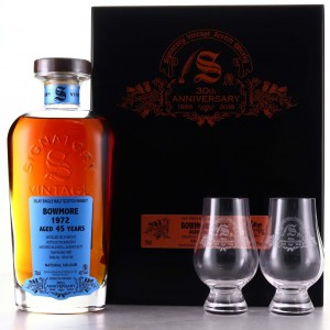 Bowmore 1972 Signatory Vintage 45 Year Old / 30th Anniversary