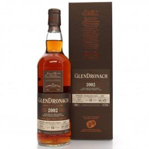 Glendronach 2002 Single Cask 15 Year Old #4648