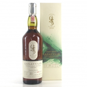 Lagavulin 1991 Cask Strength 21 Year Old