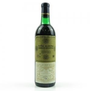 Viña Albina 1956 Rioja Crianza