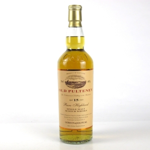 Old Pulteney 15 Year Old Gordon and MacPhail