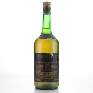 Maxime Freres Brandy 1 Litre 1960s