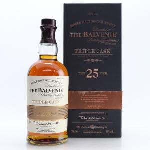 Balvenie 25 Year Old Triple Cask