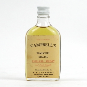 Tomintoul Special 'P & J Campbell' Special 100 Proof Miniature
