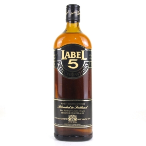 Label 5 Scotch Whisky 1970s / French Import