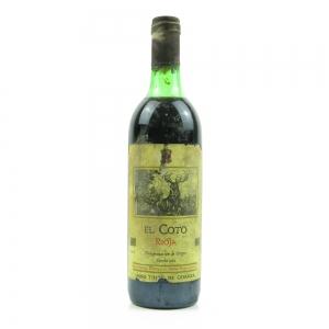 El Coto 1981 Rioja Crianza