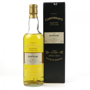 Bowmore 1983 Cadenhead's 12 Year Old