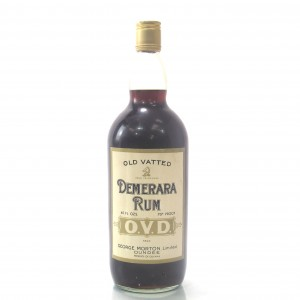 George Morton Old Vatted Demerara Rum 40 Fl. Ozs.