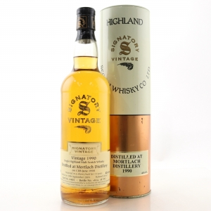Mortlach 1990 Signatory Vintage 14 Year Old