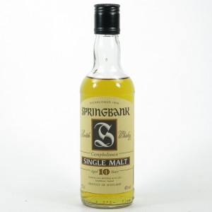 Springbank 10 Year Old 1990s 37.5cl