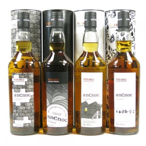 AnCnoc Peter Arkle Collection 4 x 70cl Front