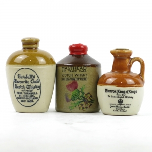 Blended 1970s Miniature Decanter Selection x 3