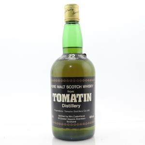 Tomatin 1962 Cadenhead's 22 Year Old